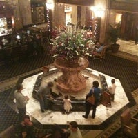 Photo taken at The Peabody Hotel by Jason L. on 12/19/2011