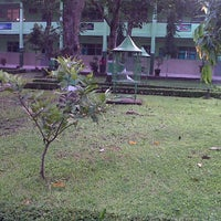 Photo taken at Taman SMAK St. Augustunus by Agoeng P. on 2/26/2012
