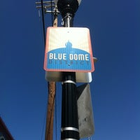 Photo taken at The Blue Dome District by CoralSnake on 4/2/2012