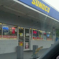 Photo taken at Sunoco by Laud S. on 11/7/2011
