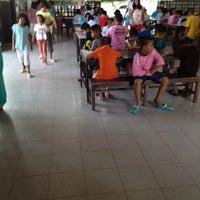 Photo taken at โรงเรียนคนตาบอด  จ.สุราษฎร์ธานี by AOR on 5/22/2012