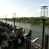 Photo taken at The Boathouse at Rocketts Landing by Terry G. on 8/12/2012