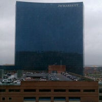 Photo taken at Indianapolis Marriott Downtown by Michael R. on 11/3/2011