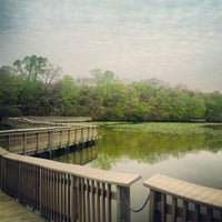 Photo taken at Historic Smithville Park by Erik S. on 4/19/2012