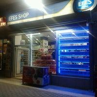 Photo taken at Erkan Efes Shop by Menduha on 9/10/2012