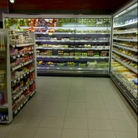 Photo taken at Proxy Delhaize by sofie on 11/2/2011