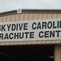 Photo taken at Skydive Carolina by Samantha P. on 11/13/2011