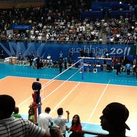Foto tomada en Complejo Panamericano de Voleibol por Alberto E. el 10/30/2011