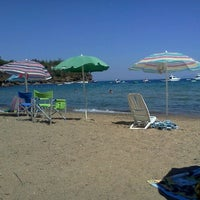 Photo taken at Spiaggia Di Straccoligno by Linda L. on 8/22/2011