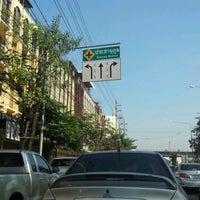 Photo taken at Prachanukun Intersection by Sopha N. on 12/7/2011