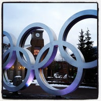 Photo taken at Olympic Plaza by Jay M. on 2/11/2012
