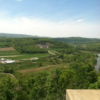Photo taken at Wyalusing Scenic Overlook by Hawkeye on 5/12/2012