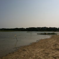 Photo taken at Ridgevale Beach by Mark B. on 8/25/2011