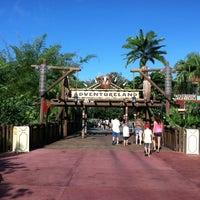 Photo taken at Walt Disney's Enchanted Tiki Room by Conner S. on 8/4/2012