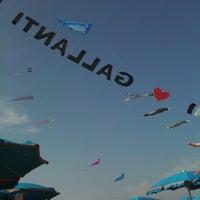 Photo taken at Gallanti Beach Pomposa by Elisa P. on 8/7/2011