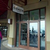 Photo taken at Coach Factory Store by Kathryn H. on 10/15/2011