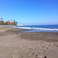 Photo taken at Playa Santa Ana by Lara L. on 2/5/2011