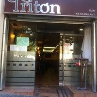 Photo taken at Restaurante Tritón by Marc E. on 6/16/2012