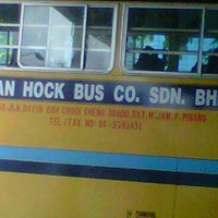 Photo taken at Station Bus Lean Hock Co. Sdn. Bhd by Azian A. on 10/29/2011