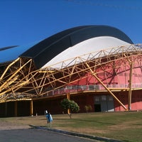 Photo taken at Ginásio Aecim Tocantins by Valdecarlos M. on 7/24/2012