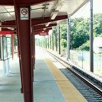 Photo taken at PATCO: Ashland Station by Brad G. on 5/26/2012