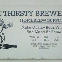Photo taken at Thirsty Brewer by Mike L. on 10/22/2011