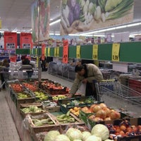 Photo taken at Lidl by Teodor S. on 12/24/2011