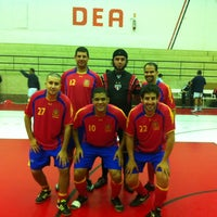 Photo taken at Interno Futsal G1-SPFC by Jihad M. on 6/22/2012