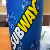 Photo taken at Subway by Kev P. on 6/1/2012