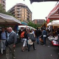Photo taken at Mercato di Porta Portese by Duygu İ. on 4/29/2012