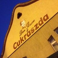 Photo taken at Don Bosco Cukrászda by Harfouch V. on 7/28/2012