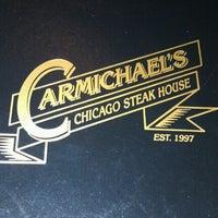 Photo taken at Carmichael's Chicago Steak House by Alya S. on 7/12/2012