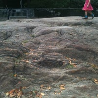 Photo taken at Highest Natural Point In Manhattan by Coleman B. on 9/8/2011