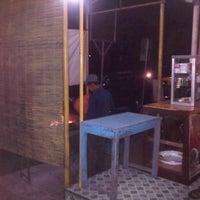 Photo taken at Sate Kambing Muda Bu Parmin by umbar p. on 4/6/2012
