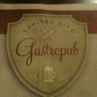Photo taken at Capital City Gastropub by Luke G. on 10/15/2011