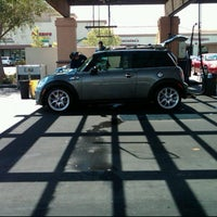 Photo taken at Jack's Car Wash Company / 76 Station by Delia R. on 7/18/2011