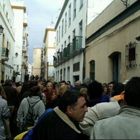 Photo taken at Plaza S. CRISTO de La Vera Cruz by Vicente A. on 1/15/2012