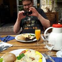 Photo taken at Cafe Palaver by Mela E. on 6/17/2012