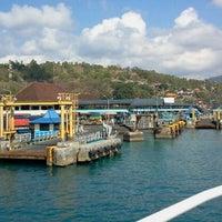 Photo taken at Pelabuhan Padang Bai by Arsil U. on 10/30/2011