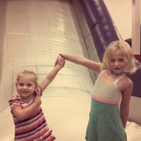 Photo taken at Bounce U by Mary Ann M. on 8/15/2012