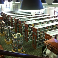 Photo taken at Fairfax City Public Library by Amanda K. on 12/2/2011