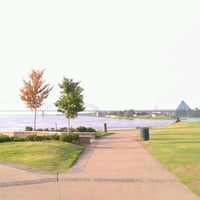 Photo taken at Tom Lee Park by Janika W. on 10/1/2011