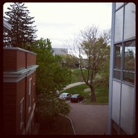 Photo taken at Hamilton Smith Hall by Jason B. on 5/2/2012