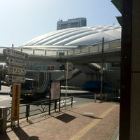 Photo taken at Korakuen Station by Yoshikazu K. on 3/19/2012