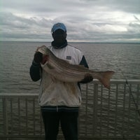 Photo Taken At Woodland Beach Fishing Pier By Almos F On 5 6