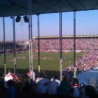 Photo taken at 7he Sevens Rugby Ground by Ashley T. on 12/2/2011