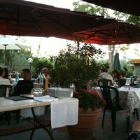 Photo taken at Trattoria Trianon by Vincenzo O. on 6/27/2011