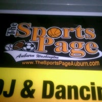 Photo taken at Sports Page Bar & Grill by Brittany B. on 9/10/2012