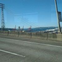 Photo taken at West Seattle / Jeanette Williams Memorial Bridge by Wayne P. on 8/19/2011