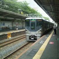 Photo taken at JR Mikunigaoka Station by yakiyaki j. on 8/15/2012